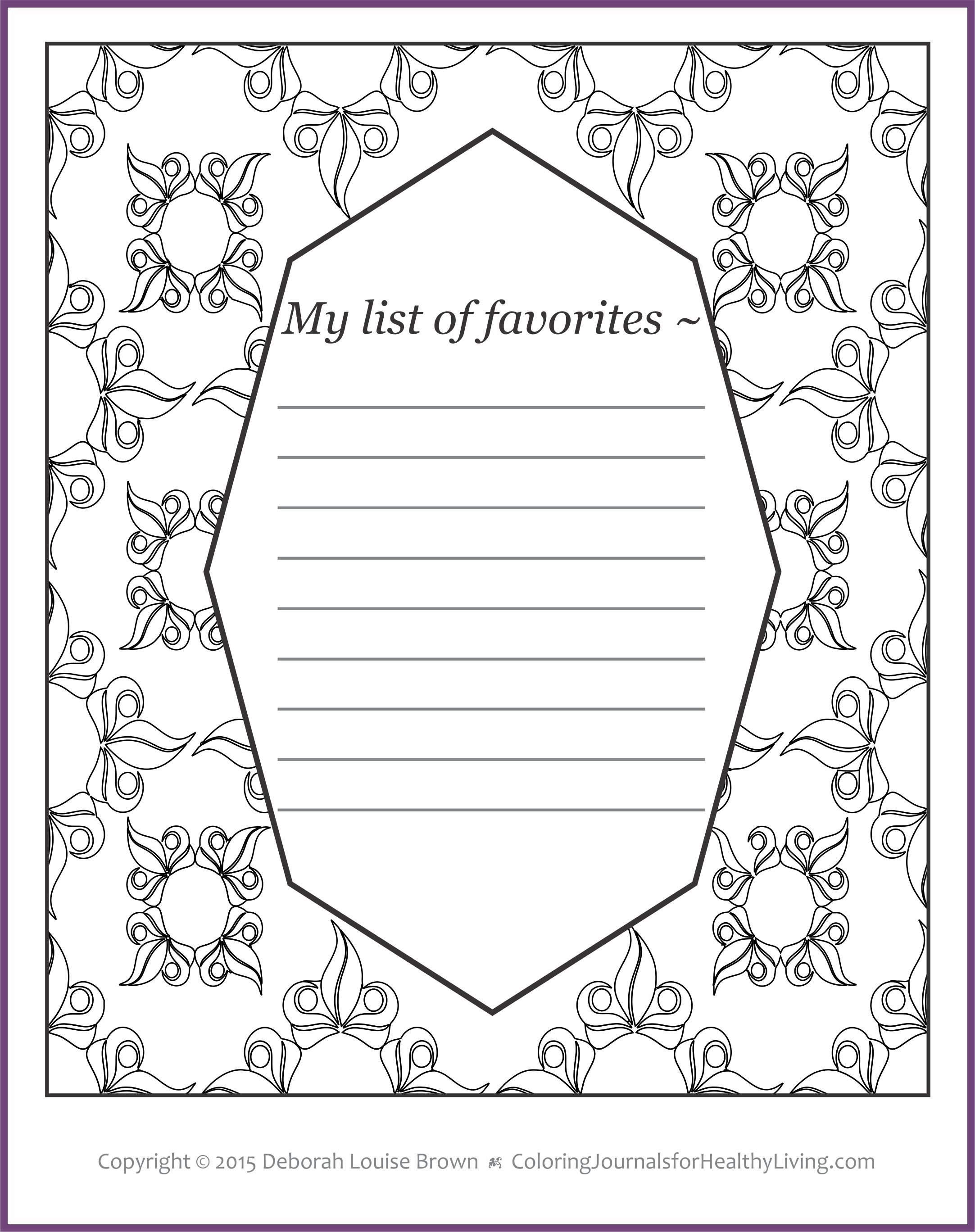 healthy living coloring pages - photo#30